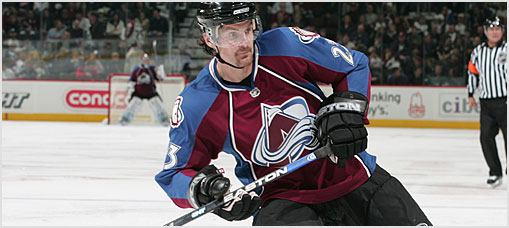 Colorado Avalanche Roster Report 2008-11-20