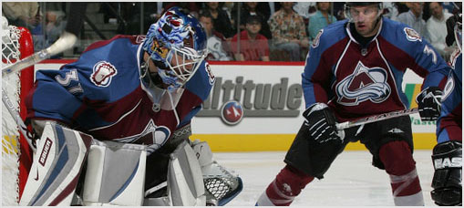 Colorado Avalanche Inside Shots 2008-11-27