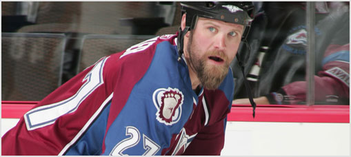Colorado Avalanche Inside Shots 2008-12-05
