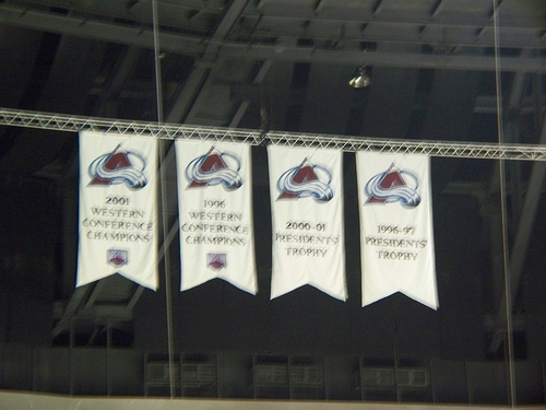 Colorado Avalanche Banners
